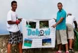 Los viajeros de Dehovi disfrutando.