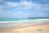 Playa Costa Esmeralda y sus finas arenas blancas.