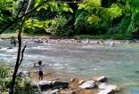 Río Blanco, en la comunidad de Blanco, Bonao.