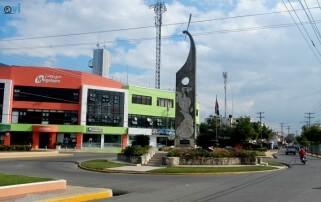 El Monumenta al Agricultor es un reconocimiento a la labor del hombre del campo.