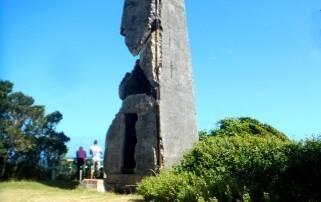 El Monumento Cabo Francés Viejo es un viejo faro que por subicacion e importancia natural fue declarado aérea protegida.